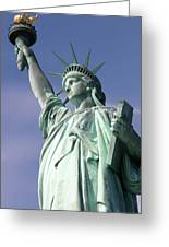 Lady Liberty 01 Greeting Card
