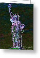 Lady Liberty 20130115 Greeting Card