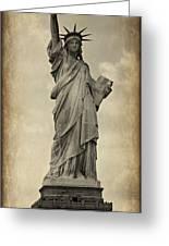 Lady Liberty No 11 Greeting Card