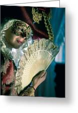 Lady Of Renaissance Greeting Card