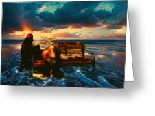Lady Of The Ocean Greeting Card