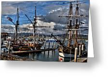 Lady Washington - Hawiian Chieftain Greeting Card