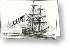 Lady Washington At Friendly Cove Greeting Card