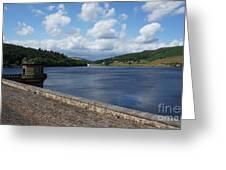 Ladybower Dam Greeting Card