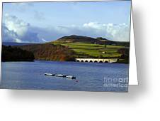 Ladybower Reservoir Greeting Card