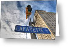 Lafayette Square Buffalo Ny V1 Greeting Card