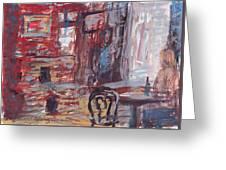 Laffite's Blacksmith Shop  Greeting Card