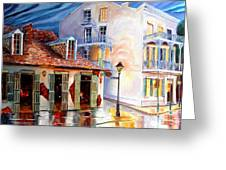 Lafitte's Guest House On Bourbon Greeting Card
