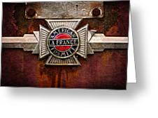 Lafrance Badge Greeting Card