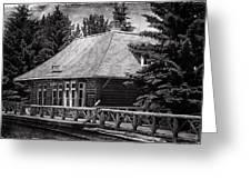 Laggan Station I Greeting Card