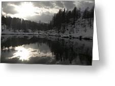 Lago Delle Streghe Greeting Card