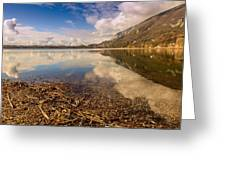 Lago Di Annone Greeting Card