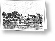 Lago Di Maggiore - Mergozzo Greeting Card