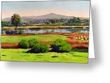 Lago Lindo Rancho Santa Fe Greeting Card
