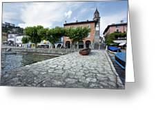 Lago Maggiore Ascona   Greeting Card