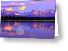 Lago Pehoe In Torres Del Paine Chile Crayons Greeting Card