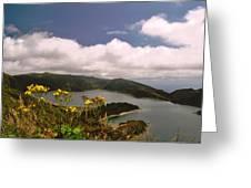 Fire Lake Greeting Card