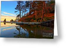 Lagoon Sunrise 1 Greeting Card