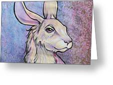 Lagos The Noble Hare Greeting Card