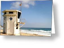 Laguna Beach Lifeguard Tower Greeting Card