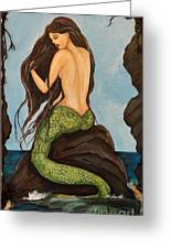 Laguna Beach Mermaid Marina Greeting Card