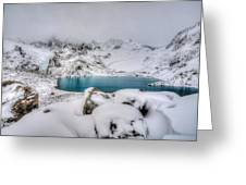 Laguna De Los Tres Greeting Card