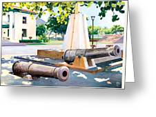 Lahaina 1812 Cannons Greeting Card