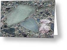 Lahar Deposit Rock Sample Greeting Card