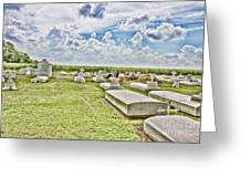 Laid To Rest Greeting Card