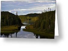 Lake 2 Greeting Card
