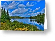 Lake Abanakee - Indian Lake New York Greeting Card