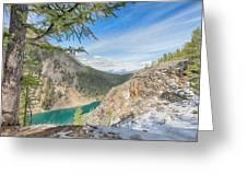 Lake Agnes - Lake Louise - Canada Greeting Card