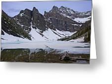 Lake Agnes #2 Greeting Card