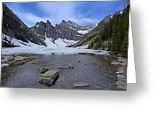Lake Agnes Greeting Card