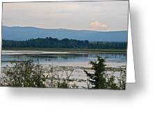 Lake Along Klondike Highway-yt Greeting Card