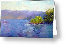 Lake Arrowhead Greeting Card