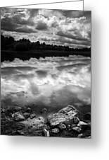 Lake Auburn Twilight Greeting Card
