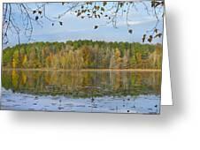 Lake Bailey Petit Jean State Park Greeting Card