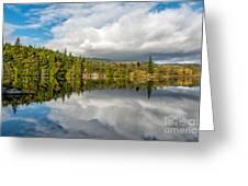Lake Bodgynydd Greeting Card