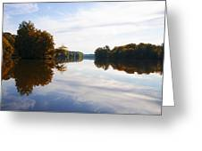 Lake Carnegie Princeton Greeting Card
