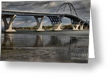 Lake Champlain Bridge Greeting Card