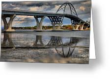 Lake Champlain New Bridge Greeting Card