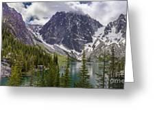 Lake Colchuck Gateway To The Enchantments Greeting Card