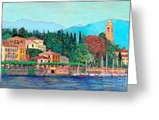 Lake Como Greeting Card