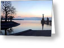 Lake Constance Sunrise Greeting Card