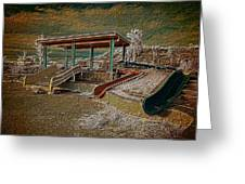 Lake Delores Water Park Greeting Card
