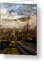 Lake District Rainbow Greeting Card