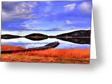 Lake Dock Greeting Card