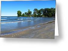 Lake Erie At Sheldon Marsh 2 Greeting Card
