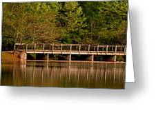 Lake Forest Bridge Greeting Card